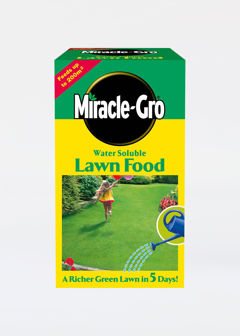 1kg Miracle Gro Water Soluble Lawn Food