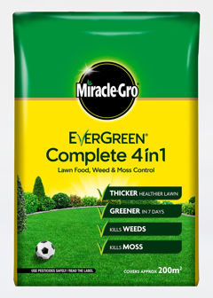 200sqm Miracle Gro EverGreen Complete 4 in 1