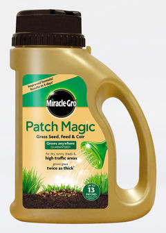 1kg Miracle Gro Patch Magic Grass Seed Feed & Coir