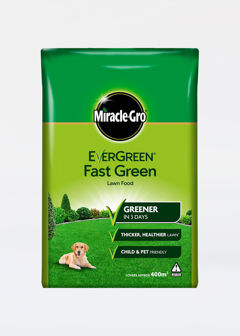 400sqm Miracle Gro Evergreen Fast Green Lawn Food