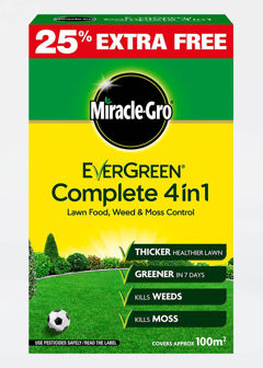 80sqm MiracleGro E.green 4In1 Lwn Feed&Weed&Moss Control