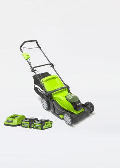 Greenworks G40LM41K2X 41cm Cordless Rotary Mower