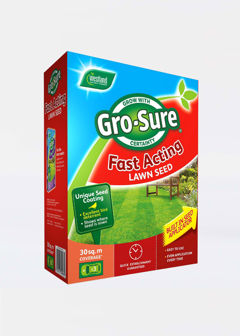 30sqm GroSure Fast Acting Lawn Seed