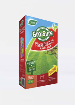50sqm GroSure Fast Acting Lawn Seed