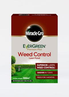 100sqm MiracleGro Lawn Food Evergreen Plus Weed Control