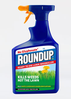 1L Roundup Lawn Weedkiller Evergrn