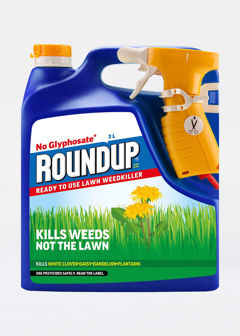 3L Roundup Lawn Weedkiller Evergrn