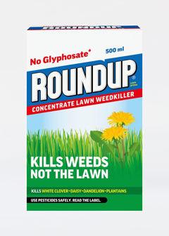 500ml Roundup Lawn Weedkiller Evergreen