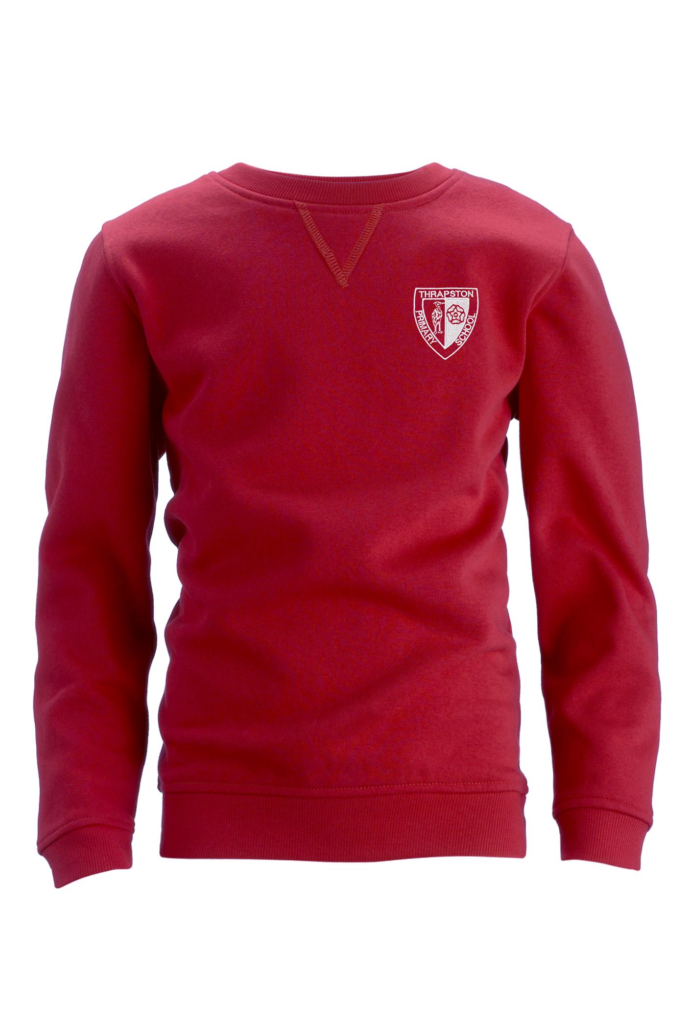 Thrapston Primary Unisex Crew Neck Cotton Rich Sweatshirt