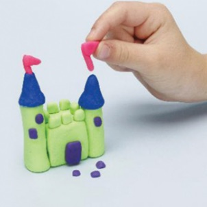 simple Play-Doh compound projects to mold, stretch and shape their imaginations!
